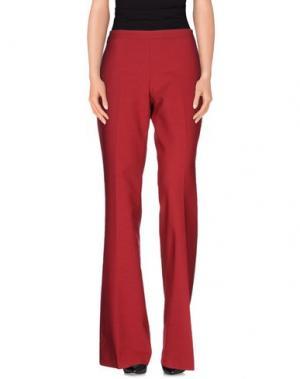 Повседневные брюки GIAMBA. Цвет: красно-коричневый