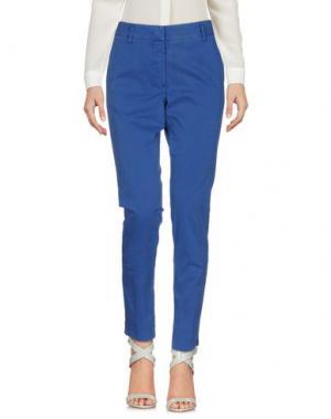 Повседневные брюки ROSSOPURO. Цвет: синий