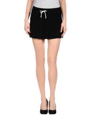 Мини-юбка AKEP. Цвет: черный