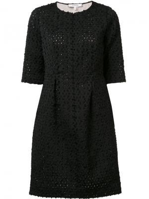 Платье Unexpected Lace Dorothee Schumacher. Цвет: чёрный