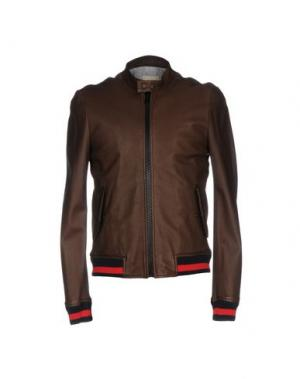 Куртка BAND OF OUTSIDERS. Цвет: темно-коричневый