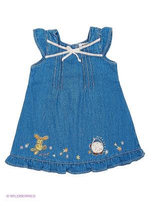 Сарафан джинсовый Kidly. Цвет: синий