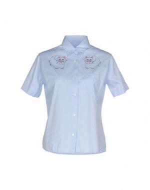 Pубашка JIMI ROOS. Цвет: небесно-голубой