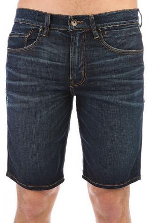 Шорты джинсовые  avalonshoagy Agy Blue Quiksilver. Цвет: голубой