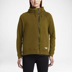 Женский кейп  Sportswear Modern Nike. Цвет: оливковый