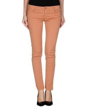 Повседневные брюки DENNY ROSE. Цвет: телесный