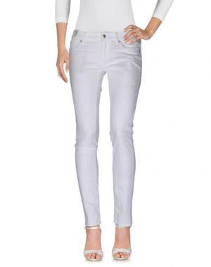 Джинсовые брюки DRYKORN. Цвет: белый