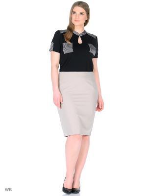 Блузка BERKLINE. Цвет: черный