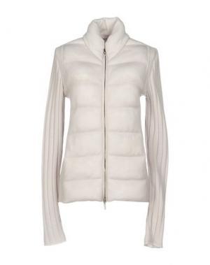 Куртка GENTRYPORTOFINO. Цвет: светло-серый