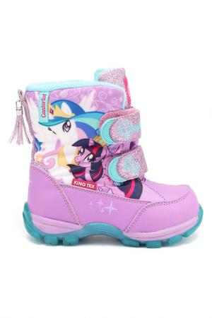 Сапожки My Little Pony. Цвет: сиреневый