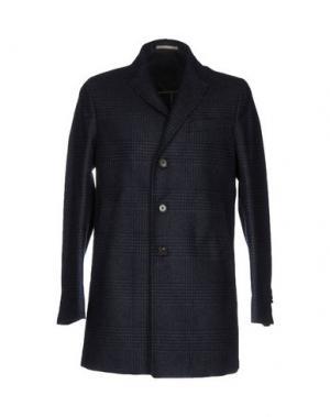 Пальто PAOLONI. Цвет: темно-синий
