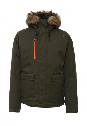 Куртка горнолыжная Quiksilver. Цвет: зеленый