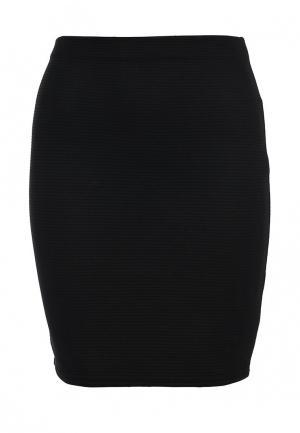 Юбка Edge Clothing. Цвет: черный