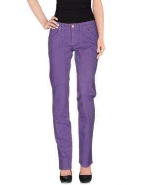 Повседневные брюки JECKERSON. Цвет: фиолетовый