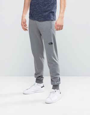 The North Face Узкие спортивные штаны серовато-лилового цвета Nse. Цвет: серый