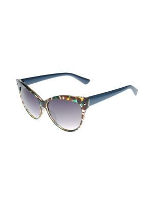 Солнцезащитные очки Gusachi. Цвет: коричневый, голубой, желтый, зеленый, серый