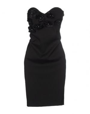 Короткое платье SHI 4. Цвет: черный