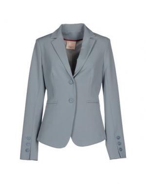 Пиджак KARTIKA. Цвет: небесно-голубой