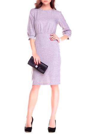 Платье REBECCA TATTI. Цвет: серый