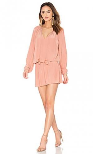 Платье london RAMY BROOK. Цвет: розовый