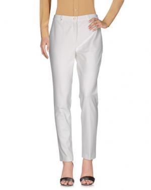 Повседневные брюки PAMELA HENSON. Цвет: белый