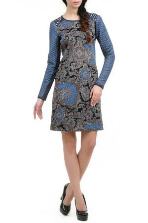 Платье Сиам LESYA. Цвет: мультицвет