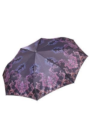 Зонт Fabretti. Цвет: серый, розовый