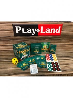 Настольная игра Номинация Лучший Певец PLAY LAND. Цвет: зеленый