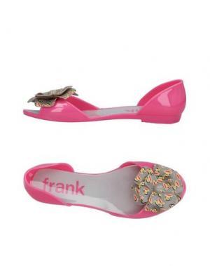 Балетки PAUL FRANK. Цвет: розовый