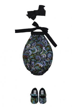 Хлопковый комплект «Восточный узор» SASHA Petit Gâteau. Цвет: multicolor