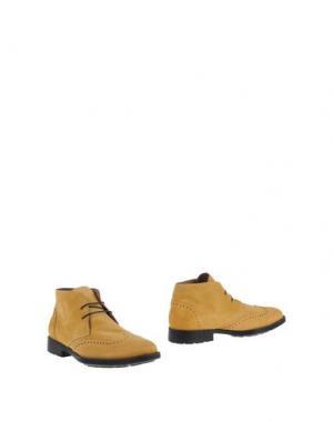Полусапоги и высокие ботинки CANTARELLI. Цвет: песочный