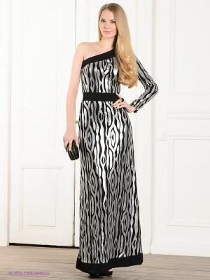 Платье Ksenia Knyazeva. Цвет: серебристый, черный