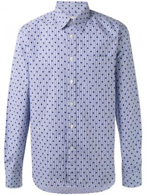 Dot print shirt Bellerose. Цвет: синий
