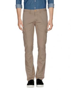 Повседневные брюки DOMENICO TAGLIENTE. Цвет: песочный