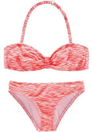 Бикини-бандо VENICE BEACH. Цвет: мятный/белый, оранжево-красный/белый, черный/белый