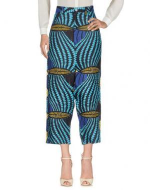 Повседневные брюки JUNYA WATANABE COMME des GARÇONS. Цвет: лазурный