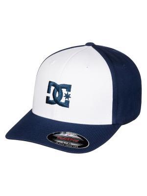 Бейсболка DC Shoes. Цвет: синий,белый