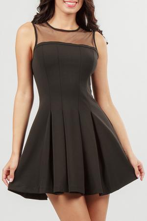 Платье Nero su Bianco. Цвет: черный