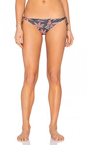 Плавки бикини с длинными завязками по бокам SOFIA by ViX. Цвет: черный