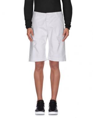 Джинсовые брюки OFFICINA 36. Цвет: белый