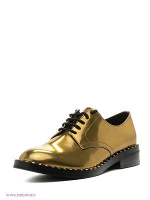 Ботинки ASH. Цвет: золотистый