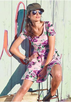 Платье Aniston. Цвет: черный