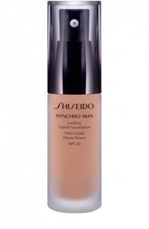 Устойчивое тональное средство Synchro Skin, оттенок Rose 3 Shiseido. Цвет: бесцветный