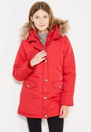 Куртка утепленная Fascinate. Цвет: красный