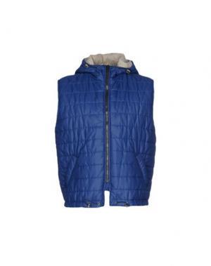 Куртка GABARDINE. Цвет: темно-синий