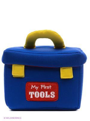 Игрушка мягкая (My First Toolbox Play Set, 19 см). Gund. Цвет: синий