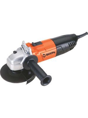 Углошлифовальная машина УШМ-125/900 Вихрь. Цвет: оранжевый