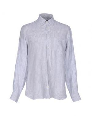 Pубашка ZANETTI. Цвет: серый