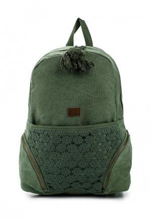 Рюкзак Roxy. Цвет: зеленый