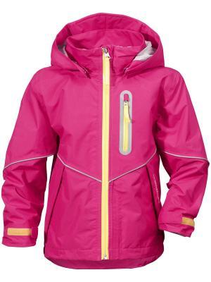 Куртка PANI DIDRIKSONS. Цвет: розовый